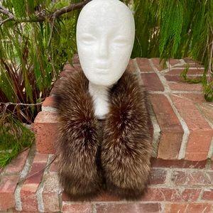 Fluffy Crystal Fox Sexy Fur Collar or Scarf